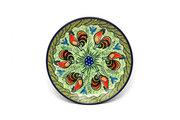 """Ceramika Artystyczna Polish Pottery Plate - Salad/Dessert (7 3/4"""") - Unikat Signature U2663 086-U2663 (Ceramika Artystyczna)"""
