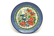 """Ceramika Artystyczna Polish Pottery Plate - Salad/Dessert (7 3/4"""") - Unikat Signature U3184 086-U3184 (Ceramika Artystyczna)"""