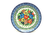 """Ceramika Artystyczna Polish Pottery Plate - Salad/Dessert (7 3/4"""") - Unikat Signature U3347 086-U3347 (Ceramika Artystyczna)"""