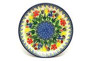 """Ceramika Artystyczna Polish Pottery Plate - Salad/Dessert (7 3/4"""") - Unikat Signature U3787 086-U3787 (Ceramika Artystyczna)"""