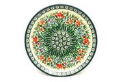 """Ceramika Artystyczna Polish Pottery Plate - Salad/Dessert (7 3/4"""") - Unikat Signature U4336 086-U4336 (Ceramika Artystyczna)"""