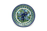 """Ceramika Artystyczna Polish Pottery Plate - Salad/Dessert (7 3/4"""") - Unikat Signature U4520 086-U4520 (Ceramika Artystyczna)"""