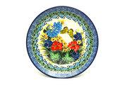 """Ceramika Artystyczna Polish Pottery Plate - Salad/Dessert (7 3/4"""") - Unikat Signature U4592 086-U4592 (Ceramika Artystyczna)"""
