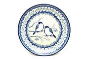 """Ceramika Artystyczna Polish Pottery Plate - Salad/Dessert (7 3/4"""") - Unikat Signature U4830 086-U4830 (Ceramika Artystyczna)"""