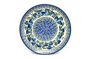 "Ceramika Artystyczna Polish Pottery Plate - Salad/Dessert (7 3/4"") - Winter Viola 086-2273a (Ceramika Artystyczna)"
