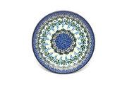 """Ceramika Artystyczna Polish Pottery Plate - Salad/Dessert (7 3/4"""") - Wisteria 086-1473a (Ceramika Artystyczna)"""