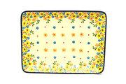 Ceramika Artystyczna Polish Pottery Platter - Rectangular - Buttercup 111-2225a (Ceramika Artystyczna)