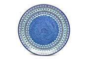 "Ceramika Artystyczna Polish Pottery Platter - Round (12 1/4"") - Aztec Sky 256-1917a (Ceramika Artystyczna)"