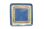 Ceramika Artystyczna Polish Pottery Platter - Square - Maraschino 583-1916a (Ceramika Artystyczna)