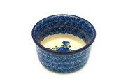 Ceramika Artystyczna Polish Pottery Ramekin - Blue Poppy 409-163a (Ceramika Artystyczna)