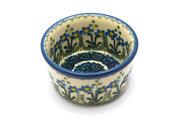 Ceramika Artystyczna Polish Pottery Ramekin - Blue Spring Daisy 409-614a (Ceramika Artystyczna)
