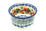 Ceramika Artystyczna Polish Pottery Ramekin - Cherry Blossom 409-2103a (Ceramika Artystyczna)