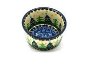 Ceramika Artystyczna Polish Pottery Ramekin - Christmas Trees 409-1284a (Ceramika Artystyczna)