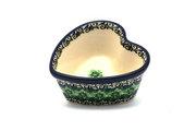 Ceramika Artystyczna Polish Pottery Ramekin - Heart - Kiwi A45-1479a (Ceramika Artystyczna)