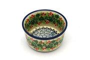Ceramika Artystyczna Polish Pottery Ramekin - Holly Berry 409-1734a (Ceramika Artystyczna)