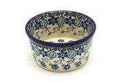 Ceramika Artystyczna Polish Pottery Ramekin - Silver Lace 409-2158a (Ceramika Artystyczna)