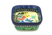 Ceramika Artystyczna Polish Pottery Ramekin - Square - Unikat Signature - U4612 428-U4612 (Ceramika Artystyczna)