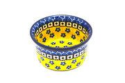 Ceramika Artystyczna Polish Pottery Ramekin - Sunburst 409-859a (Ceramika Artystyczna)