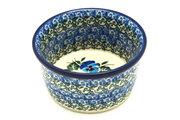 Ceramika Artystyczna Polish Pottery Ramekin - Winter Viola 409-2273a (Ceramika Artystyczna)