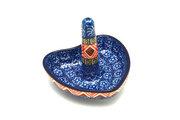 Ceramika Artystyczna Polish Pottery Ring Holder - Aztec Sun 904-1350a (Ceramika Artystyczna)