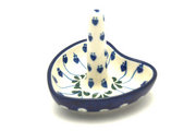 Ceramika Artystyczna Polish Pottery Ring Holder - Bleeding Heart 904-377o (Ceramika Artystyczna)