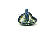 Ceramika Artystyczna Polish Pottery Ring Holder - Blue Bells 904-1432a (Ceramika Artystyczna)