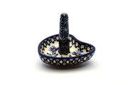 Ceramika Artystyczna Polish Pottery Ring Holder - Blue Chicory 904-976a (Ceramika Artystyczna)