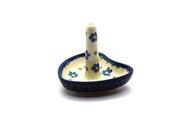 Ceramika Artystyczna Polish Pottery Ring Holder - Blue Spring Daisy 904-614a (Ceramika Artystyczna)
