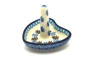 Ceramika Artystyczna Polish Pottery Ring Holder - Blue Yonder 904-2187a (Ceramika Artystyczna)