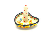 Ceramika Artystyczna Polish Pottery Ring Holder - Buttercup 904-2225a (Ceramika Artystyczna)