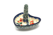 Ceramika Artystyczna Polish Pottery Ring Holder - Cherry Blossom 904-2103a (Ceramika Artystyczna)