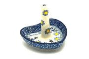 Ceramika Artystyczna Polish Pottery Ring Holder - Daisy Maize 904-2178a (Ceramika Artystyczna)