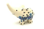 Ceramika Artystyczna Polish Pottery Ring Holder - Elephant - Denim Daisy A57-1985a (Ceramika Artystyczna)