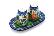 Ceramika Artystyczna Polish Pottery Salt & Pepper Set - Unikat Signature U3271 131-U3271 (Ceramika Artystyczna)