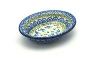 Ceramika Artystyczna Polish Pottery Soap Dish - Blue Bells 510-1432a (Ceramika Artystyczna)