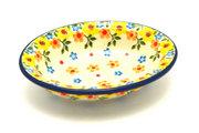 Ceramika Artystyczna Polish Pottery Soap Dish - Buttercup 510-2225a (Ceramika Artystyczna)