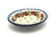 Ceramika Artystyczna Polish Pottery Soap Dish - Cherry Blossom 510-2103a (Ceramika Artystyczna)