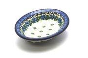 Ceramika Artystyczna Polish Pottery Soap Dish - Morning Glory 510-1915a (Ceramika Artystyczna)