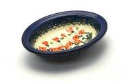 Ceramika Artystyczna Polish Pottery Soap Dish - Peach Spring Daisy 510-560a (Ceramika Artystyczna)