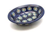 Ceramika Artystyczna Polish Pottery Soap Dish - Peacock 510-054a (Ceramika Artystyczna)