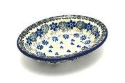 Ceramika Artystyczna Polish Pottery Soap Dish - Silver Lace 510-2158a (Ceramika Artystyczna)