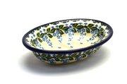 Ceramika Artystyczna Polish Pottery Soap Dish - Wisteria 510-1473a (Ceramika Artystyczna)