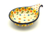 Ceramika Artystyczna Polish Pottery Spoon/Ladle Rest - Buttercup 174-2225a (Ceramika Artystyczna)