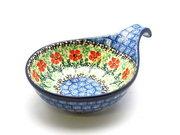 Ceramika Artystyczna Polish Pottery Spoon/Ladle Rest - Maraschino 174-1916a (Ceramika Artystyczna)