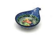Ceramika Artystyczna Polish Pottery Spoon/Ladle Rest - Unikat Signature - U4400 174-U4400 (Ceramika Artystyczna)