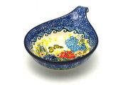 Ceramika Artystyczna Polish Pottery Spoon/Ladle Rest - Unikat Signature - U4592 174-U4592 (Ceramika Artystyczna)