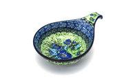 Ceramika Artystyczna Polish Pottery Spoon/Ladle Rest - Unikat Signature - U4629 174-U4629 (Ceramika Artystyczna)