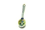 Ceramika Artystyczna Polish Pottery Spoon - Medium - Ivy Trail 590-1898a (Ceramika Artystyczna)