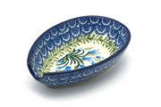 Ceramika Artystyczna Polish Pottery Spoon Rest - Blue Bells 381-1432a (Ceramika Artystyczna)