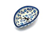 Ceramika Artystyczna Polish Pottery Spoon Rest - Boo Boo Kitty 381-1771a (Ceramika Artystyczna)